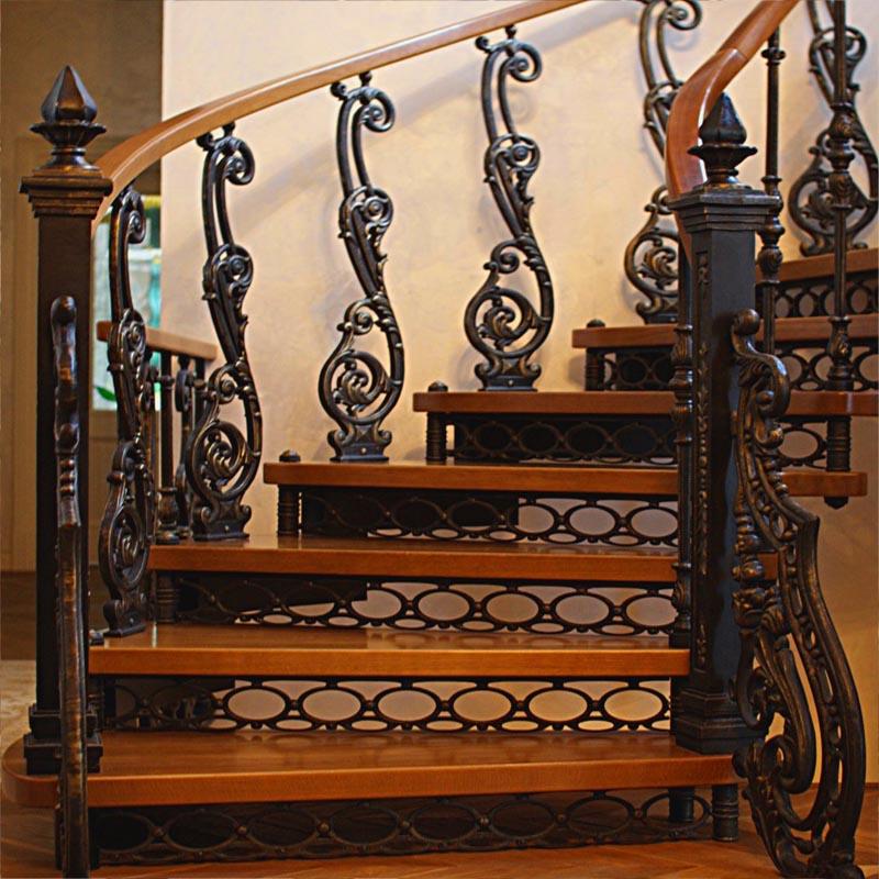 металлические балясины для лестницы
