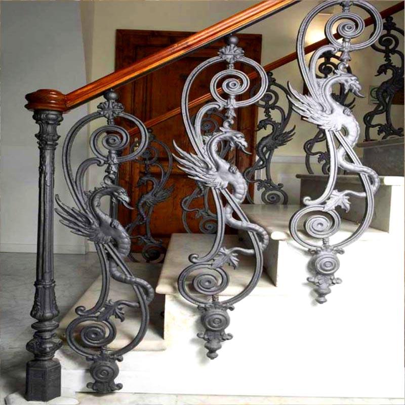 Балясины из чугуна для лестниц